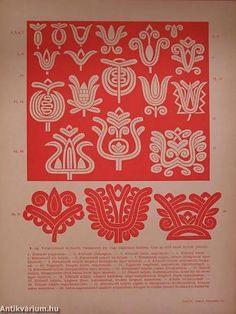 Kalotaszegi írásos hímzés (nem teljes) Polish Embroidery, Hungarian Embroidery, Folk Embroidery, Chain Stitch Embroidery, Embroidery Stitches, Embroidery Patterns, Soutache Pattern, Stitch Head, Vintage Jewelry Crafts