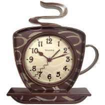 Westclox 32038 Time Café 3-dimensional Del Reloj De Pared