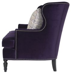 Nadine chair side view