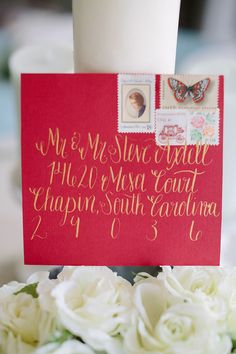 Wedding Calligraphy from Cleggraphy Designs   Brides of North Texas