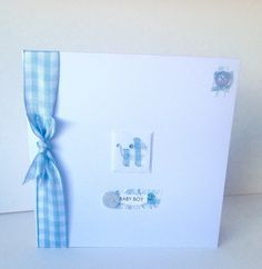 Greeting Card,New Baby Boy,Handmade Card,Can Be Personalised. Handmade Baby, Handmade Items, Protective Packaging, New Baby Boys, Baby Store, Baby Cards, Greeting Cards Handmade, New Baby Products
