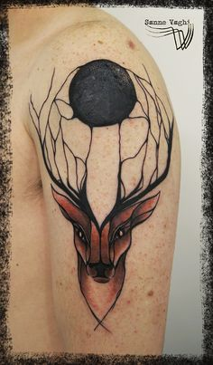 Fresh, tattoo and design by Sanne Vaghi...
