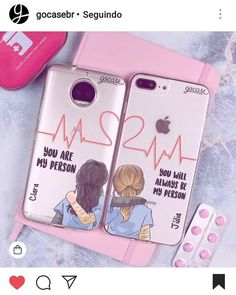 diy phone case 768778598869635949 - Marca aí😍😍😍😄😄😄 Source by Best Friend Cases, Bff Cases, Couples Phone Cases, Friends Phone Case, Diy Phone Case, Cute Phone Cases, Iphone Phone Cases, Phone Covers, Bff Drawings
