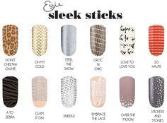 Alyra - Product Review: Essie Sleek Stick Nail Stickers