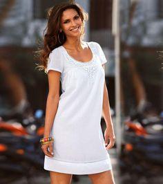 vestidos de fiesta cortos blancos - Buscar con Google