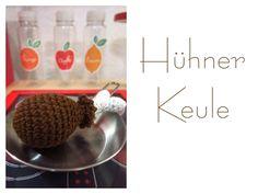 Kaufmannsladen & Küche - Häkel-Food - Hühnerkeule - ein Designerstück von GoldKindBerlin bei DaWanda