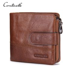 CONTACT'S Brand Wallet Short Purses Coin Bag Organizer Brands Design Men Wallet With Card Holder Money Bags With Small Wallets #hats, #watches, #belts, #fashion, #style
