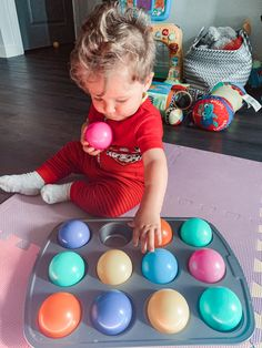My top 6 sensory activities for 6 months + - Lifestyle Blog by Samantha Blanché