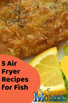 "Check out our post "" 5 Air Fryer Recipes for Fish"" to learn how to make recipes like fish in air fryer with no breading, beer batter fish air fryer, and cajun air fryer fish. Grouper Recipes, Grilled Fish Recipes, Trout Recipes, Seafood Recipes, Fried Catfish Recipes, Walleye Recipes, Air Fry Fish Recipe, Air Fryer Tilapia Recipe, Breaded Fish Recipe"