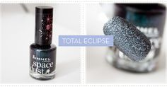 Rimmel Space Dust Nail Polish Total Eclipse
