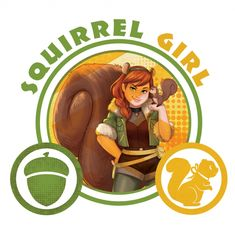 Marvel Rising: Secret Warriors Doreen Green aka Squirrel Girl picture Marvel Comic Character, Marvel Characters, Squirrel Tattoo, Squirrel Art, Squirrel Girl Marvel, Unbeatable Squirrel Girl, Secret Warriors, Romance Comics, My Superhero