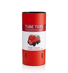Tube toys. Where the packaging forms part of the toy!