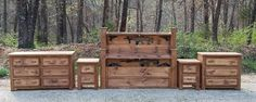 Concealment Bedroom Sets - Rough Country Rustic Furniture & Decor