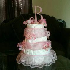 Favorite diaper cake