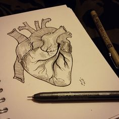 tattoo-journal | 35 Trending Anatomical Heart Tattoo Designs – For Men and Women | http://tattoo-journal.com