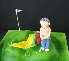 Golf Cake by phillipascakes, via Flickr