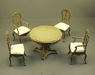 Table and Chairs Dining Room Set by Twylla Charles