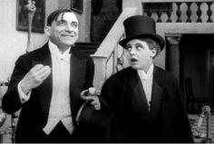 Ernst Lubitsch mit Ossi Oswalda