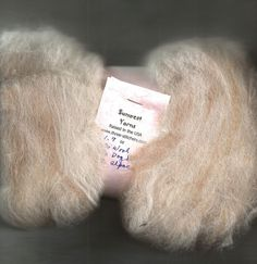 Natural White Wool, Samoyed Dog Hair Chiengora, Fawn Alpaca Batting to Spin Felt #Sunwest