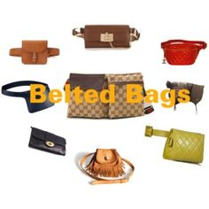 Belted Bags