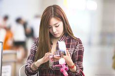 [120903] Tiffany at Incheon Airport