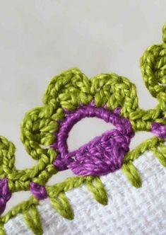 Crochet Shell Blanket, Granny Square Crochet Pattern, Crochet Borders, Crochet Blanket Patterns, Crochet Lace, Crochet Stitches, Crochet Kitchen Towels, Mandala Art, Crochet Necklace