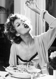 #ladozzina.com #La Dolce Vita...spaghetti for breakfast..yes please!