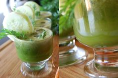 Suco Verde com pepino e espinafre | THE GLOBAL GIRL ®