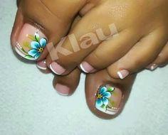 Cute Toe Nails, Cute Toes, Toe Nail Art, Pretty Nails, Pedicure Designs, Toe Nail Designs, Fabulous Nails, No Time For Me, Health And Beauty