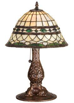 "18""""H Tiffany Roman Accent Lamp"