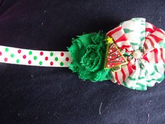 Bring on the holiday cheer with this perfect christmas infant headband! Check out this item in my Etsy shop https://www.etsy.com/listing/210140133/christmas-headband-red-and-green-polka