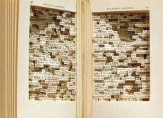 Ideas and inspirational examples of altered books to get you started.