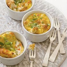 Start your Easter morning with these Mini Smoked Salmon Frittatas. | http://www.health.com/health/gallery/0,,20353508,00.html