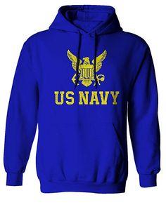 Proud American Flag North Dakota State Seal Mens Hoodie Hooded Sweatshirt