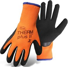 Boss  Arctik Blast  Men/'s  Indoor//Outdoor  Latex//Nylon  Hi-Viz  Gloves  Green  M