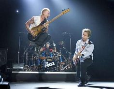 The Police--Google Images...Isn't this a great pic? this pretty much sums up why this band is legendary...Great talent, great music, intelligent lyrics.....