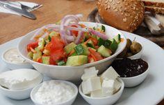 An Israeli Breakfast at Cafe Jolie