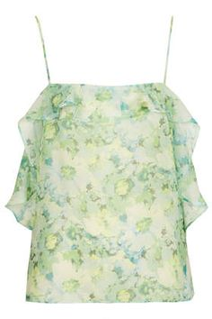 TopShop floral cami for £15