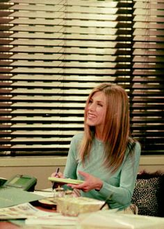 Rachel Green, Friends - I think this is the smoking episode?