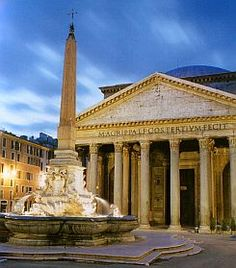 Rome, Italy - the Pantheon is one of my favorites in this amazing city.  Went there with Mary and Lyndsay and later with Bethany and Jackie.  Rome is fabulous!