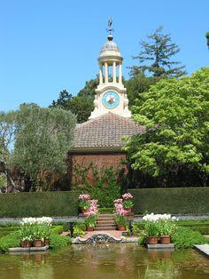 Filoli Sunken Garden, Woodside, CA by DM