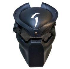 A great looking PREDATOR style mask made with good quality hard plastic adjustable straps metal eye grid and led lights