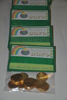 St. Patrick's Day favor bag
