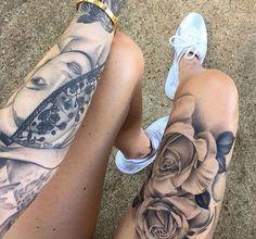 Leg and hand