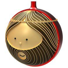 Buy Alessi Giuseppe Christmas Bauble | John Lewis