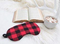Lumberjack Flannel Sleep Mask 100% Cotton Unisex Eye Pillow Gift for Him by ohhhlulu on Etsy https://www.etsy.com/listing/484820334/lumberjack-flannel-sleep-mask-100-cotton