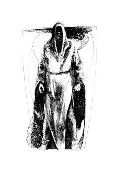 John Schoenherr's Dune pen & ink