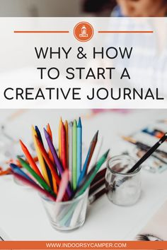 Inspire your creativity by starting a creative journal. Practice writing, doodling, sketching in the same notebook.