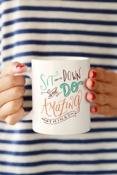 Do Amazing Things Mug