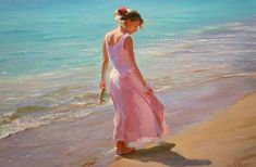 Vladimir Volegov Pretty in Pink painting is shipped worldwide,including stretched canvas and framed art.This Vladimir Volegov Pretty in Pink painting is available at custom size. Pink Painting, Woman Painting, Oil Painting On Canvas, Figure Painting, Pink Lady, Female Portrait, Female Art, Oil Portrait, Pretty In Pink